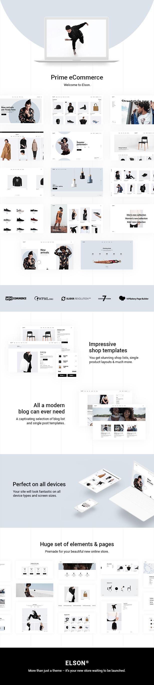 Elson - Modern Shop Theme - 1
