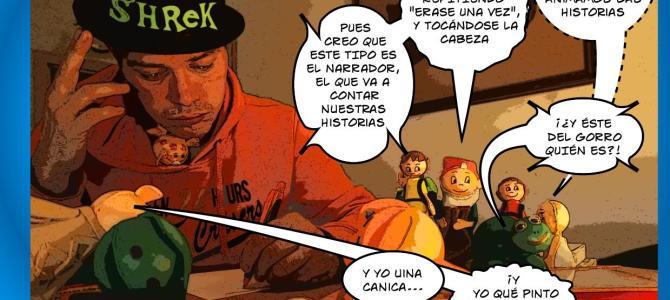 Viñetas de comic 1- La Liada –