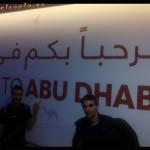 Conexión en el aeropuerto Abu Dabi