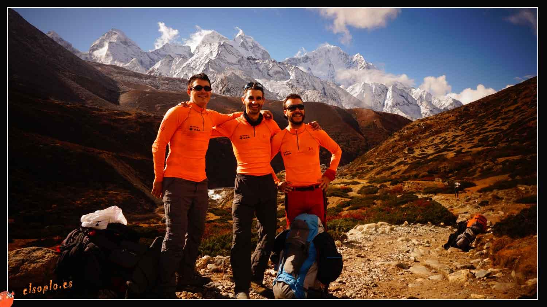 un momento en el Himalaya