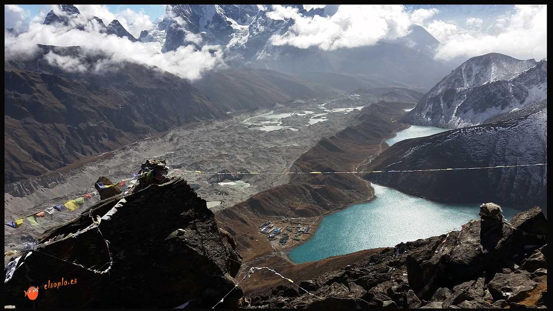 Himalaya- Gokio Ri. Posiblemente el menor mirador del mundo