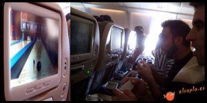 Juegos online en un avión como cosas que hacer en un vuelo largo