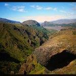Hacia volcanes en Islandia