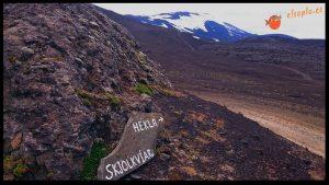 Comienzo la subida al Hekla