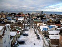 Punta Arenas hacia Torres del Paine