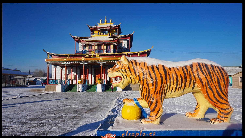 Meditación budista monasterio Datsa