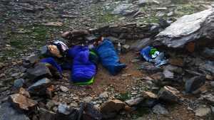 Prohibido acampar en España y vivac