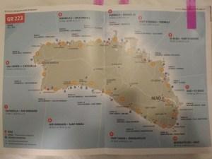 Mapa del Cami de Cavalls