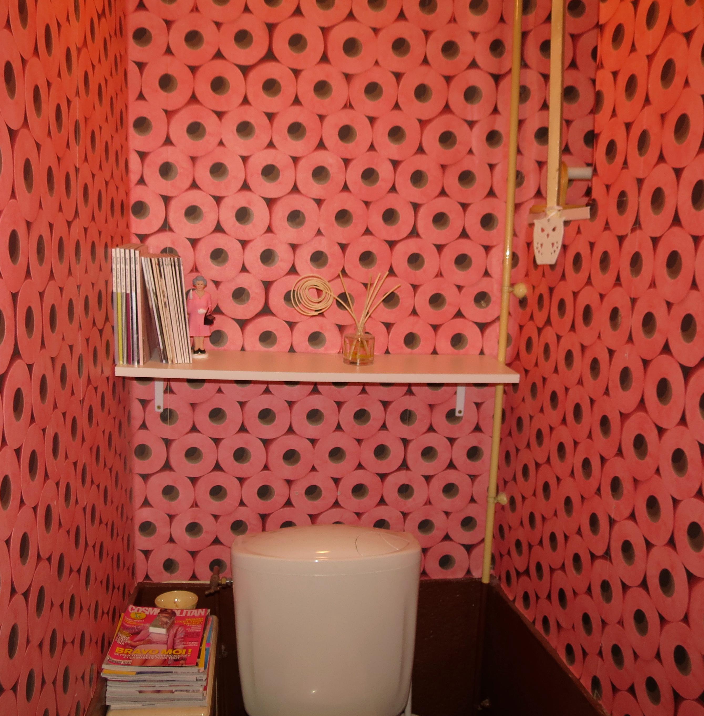 Toilette Papier Peint Latest Toilette Papier Peint With