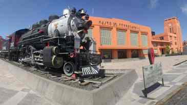 Resultado de imagen para museo del ferrocarril san luis potosi