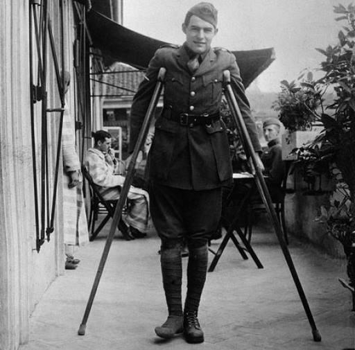 Ernest Hemingway az első világháború idején