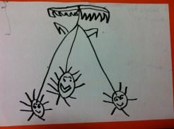 Louis, art aged 3