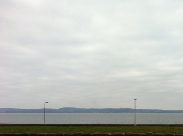 North Edinburgh - across the Forth to Fife - shades of grey