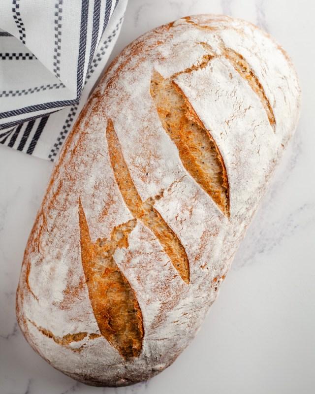 Easy 123 Seeded sourdough bread