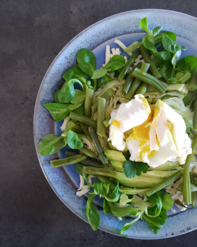 Celeriac Avocado & Egg Salad