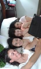 Disfrutant d'estar juntes!!!!