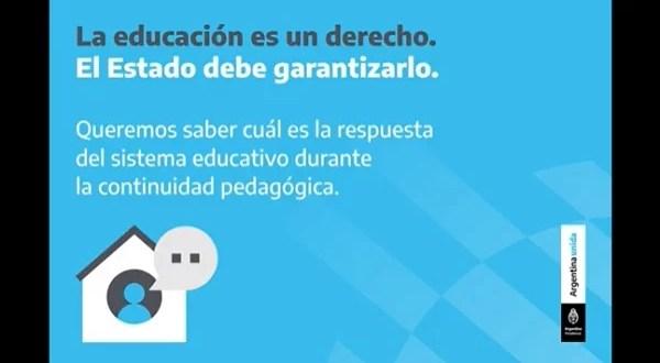 encuesta docentes