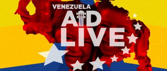 Resultado de imagen para venezuela live aid comunicado