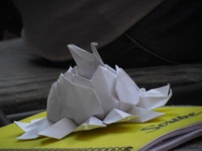Obsequio de uno de los Fans de Mon Laferte en su presentación en Tuxpan