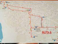 Habilitan nueva ruta de transporte urbano