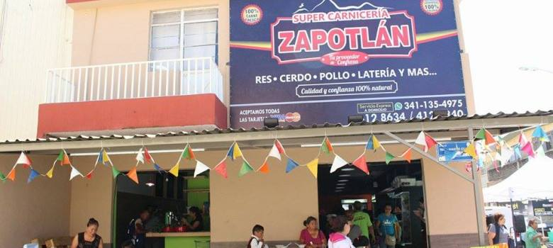 "Inauguran ""Super Carnicería Zapotlán"""