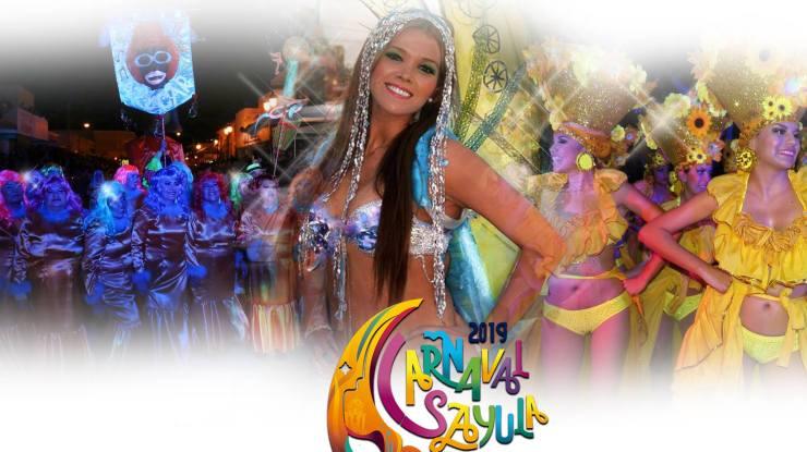 Anuncian cartelera del Carnaval de Sayula 2019