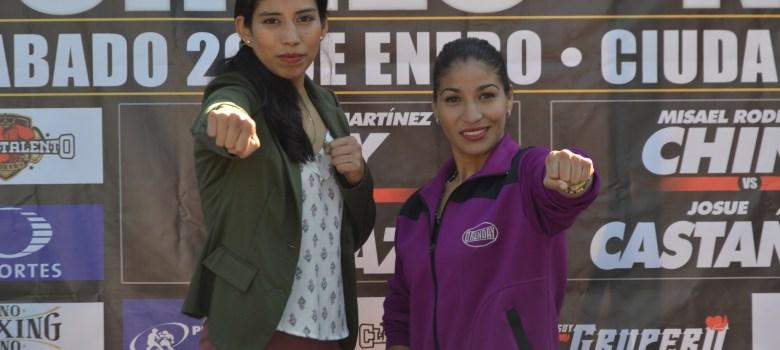 Victoria Torres y Jasseth Noriega listas para hacer historia en Ciudad Guzmán
