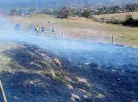 Tras dos incendios registrados, llaman a evitar quemas en Gómez Farías