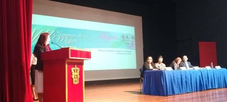 Inauguran actividades de la VII Semana de la Mujer del CU Costa Sur