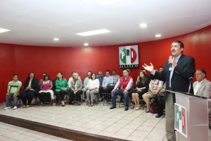PRI presenta su nuevo Comité Directivo Estatal