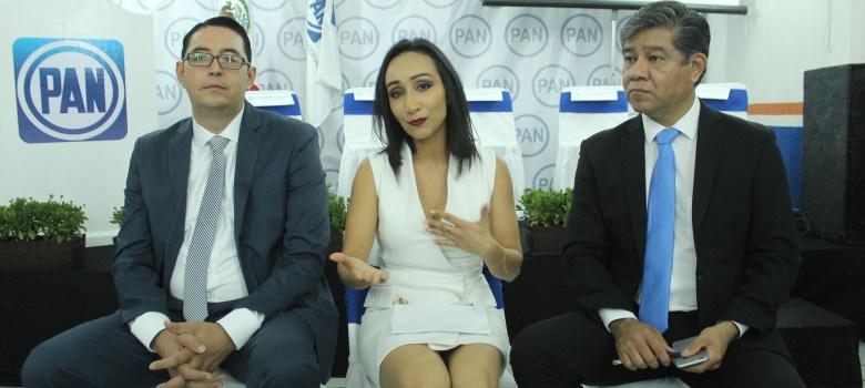 Claudia Murguía y Noé Ramos rinden cuentas ante militancia panista