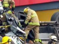 """Aumenta a siete los lesionados en accidente en """"Cuatro Caminos""""; dos de gravedad"""