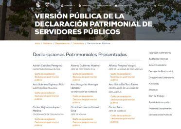 Captura sitio web Ayuntamiento Zapotlán
