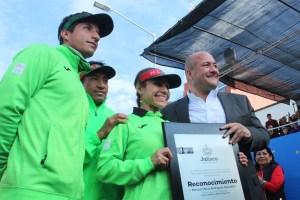 Mónica Rodríguez recibe Premio Jalisco al Mérito Deportivo