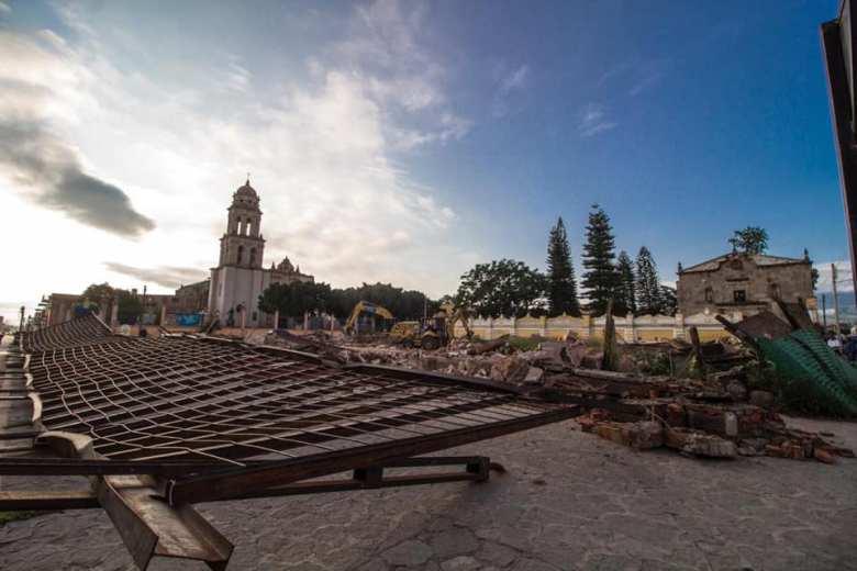 Demolición del Páramo da mala imagen a Sayula