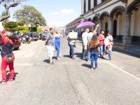 Zapotlenses se manifestaron contra ruta empresa