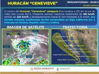 Saldo blanco en Jalisco tras el paso del huracán Genevieve