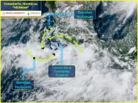 Depresión tropical se intensifica a tormenta tropical Hernan