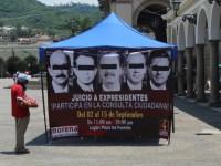 Juicio a ex presidentes, condicionado a consulta ciudadana