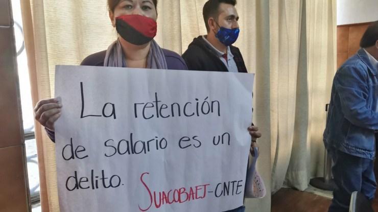 Profesores del Cobaej de Gómez Farías protestarán por falta de pago