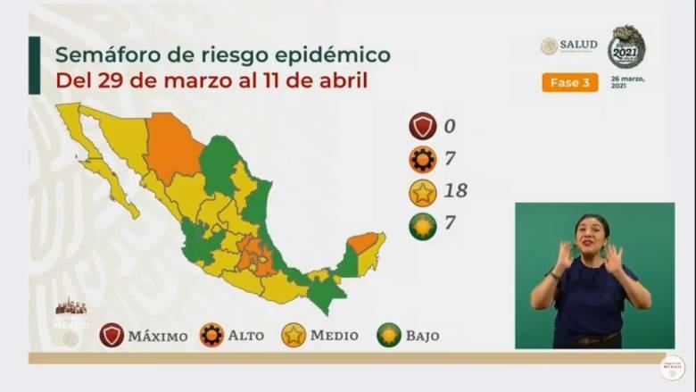 Alcanza Jalisco semáforo verde por Covid-19