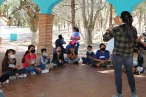 Imparten taller de rescate de fauna silvestre a niñas y niños zapotlenses
