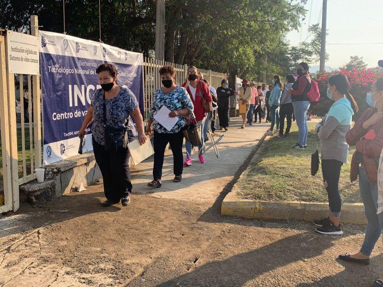 Inicia vacunación anticovid en el Tec de Ciudad Guzmán