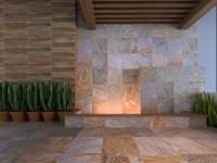 Aplicación de cerámica en la fachada de tu hogar