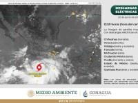 Protección Civil vigila trayectoria de tormenta Enrique