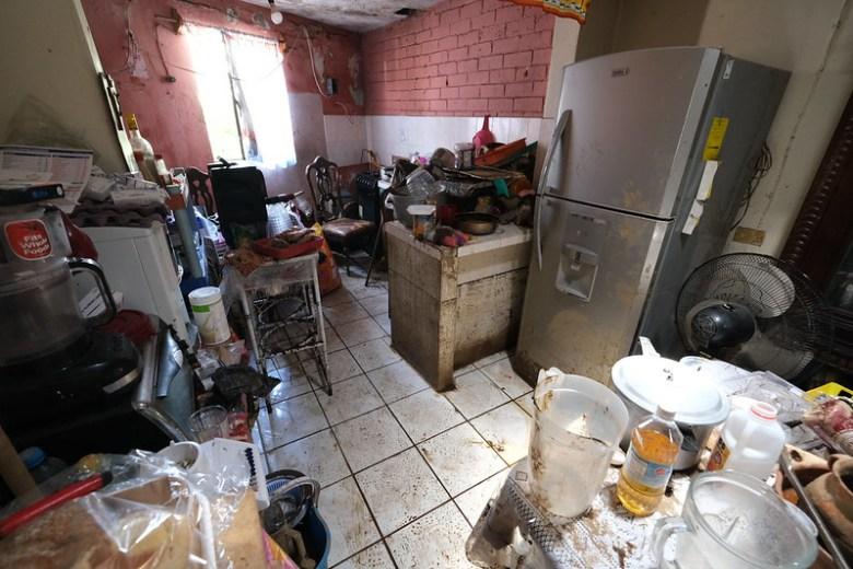 Fueron 86 viviendas afectadas por tromba en Zapotiltic