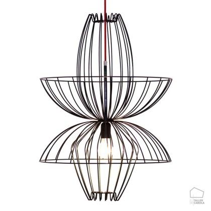 002cc1048 Lámpara de Suspensión Alambre ELL
