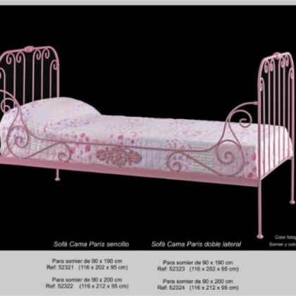 02852321 Sofá-cama de forja