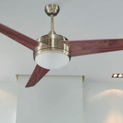 03950998D Ventilador de techo con luz, 3 aspas ( d.132 cms )