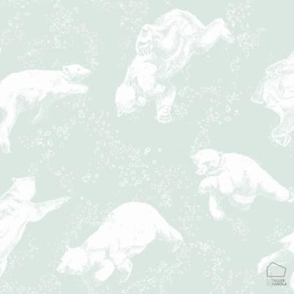 079pol6258-papel-pintado-infantil-osos-polares-verde-menta-1